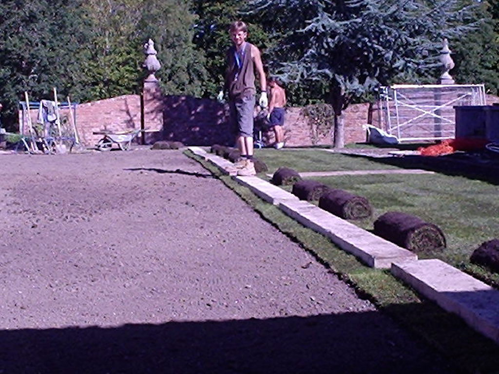 27a-laying-turf-grass-lawn-level-lawn-landscaping-company-landscape-gardener-garden-landscaper-groundworks-design-surrey-before 27