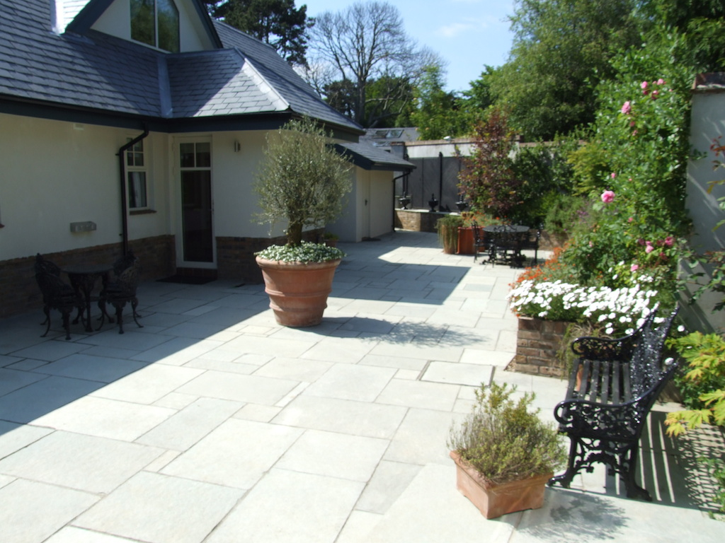 9-paving-patio-natural-stone-raised-beds-planting-landscaper-pathway-landscaping-company-landscape-gardener-garden-design-east-sussex-after 9