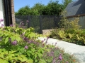 garden-gate-timber-trellis-painted-brick-wall-capping-plastered-landscapers-paving-natural-stone-patio-planting-colour-feature-landscaping-company-landscape-gardener-design-east-sussex