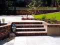 patio-paving-natural-stone-brick-wall-steps-capping-planting-grass-turf-lawn-raised-bed-timber-trellis-painted-garden-feature-design-landscaping-company-landscape-gardener-west-sussex