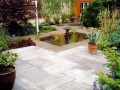 patio-paving-natural-stone-garden-pond-water-feature-planting-flower-beds-back-landscaping-company-landscape-gardener-design-kent