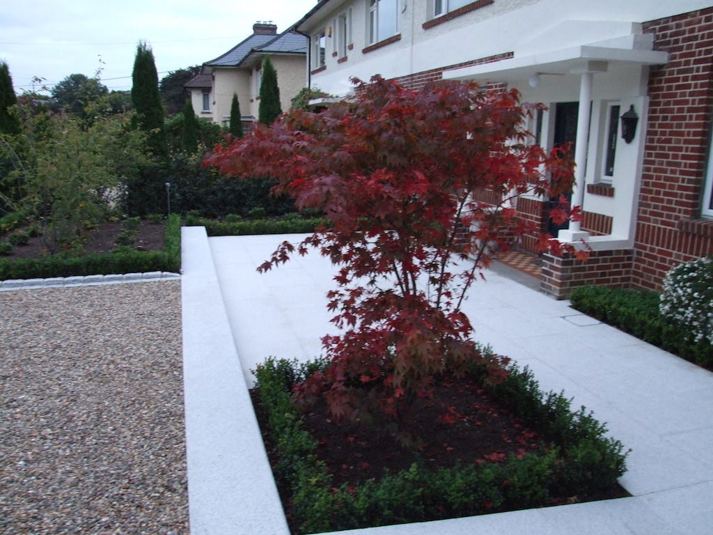 Low Maintenance Landscaping Around Trees