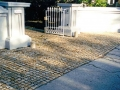 driveway-entrance-granite-cobbles-cobble-edging-garden-front-landscapers-landscaping-company-landscape-gardener-south-london