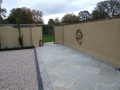 paving-paved-pathway-rendered-walls-plastered-cobbles-granite-setts-border-brick-capping-gravel-driveway-pebble-timber-work-planting-painted-landscape-gardener-landscaping-company-garden-design-sussex