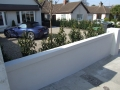 plastered-wall-painted-rendered-driveway-drainage-landscaper-planting-contemporary-garden-modern-landscaping-company-landscape-gardener-garden-design-west-sussex