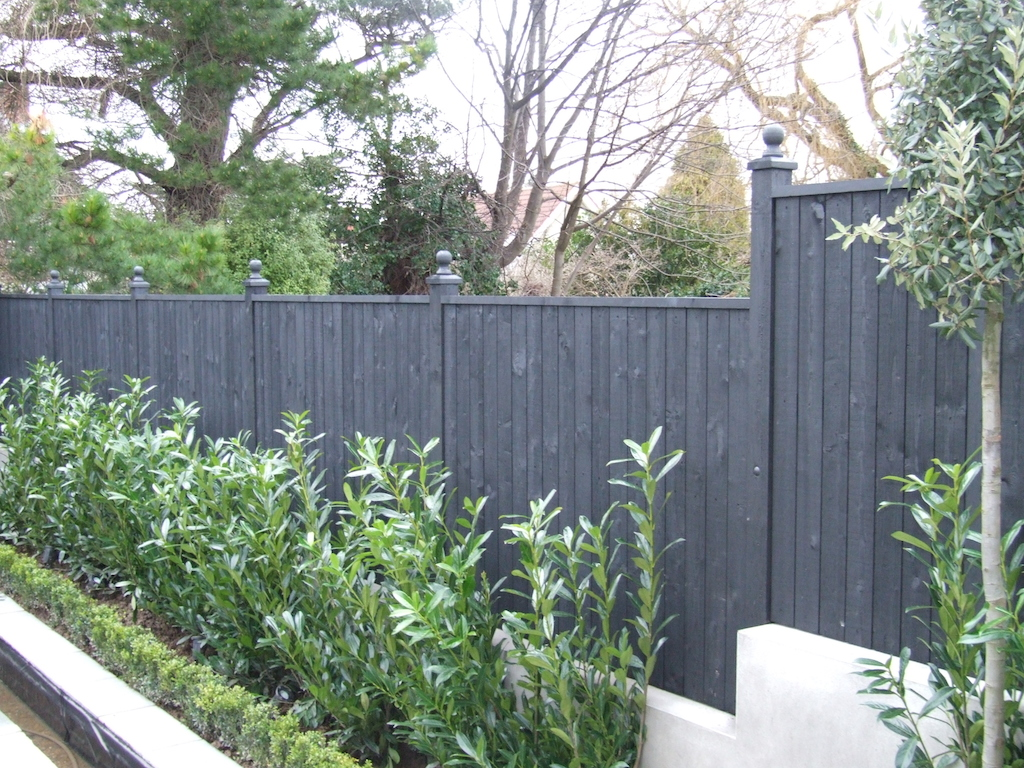 Painted Fencing Ideas Wiring Diagrams 11ledknightridercircuitgif Contractor Repair Serenity Landscaping Kent Decorative
