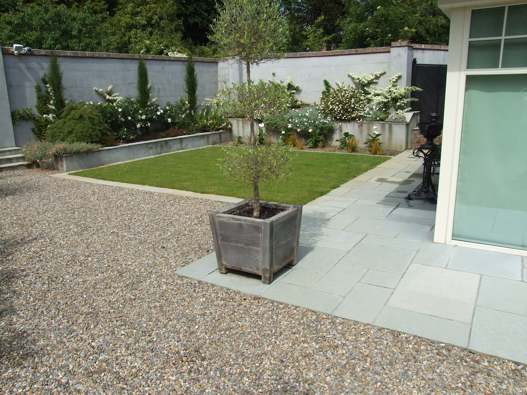 Plastered & Rendered Walls | Serenity Landscaping Kent on Patio And Gravel Garden Ideas id=75341